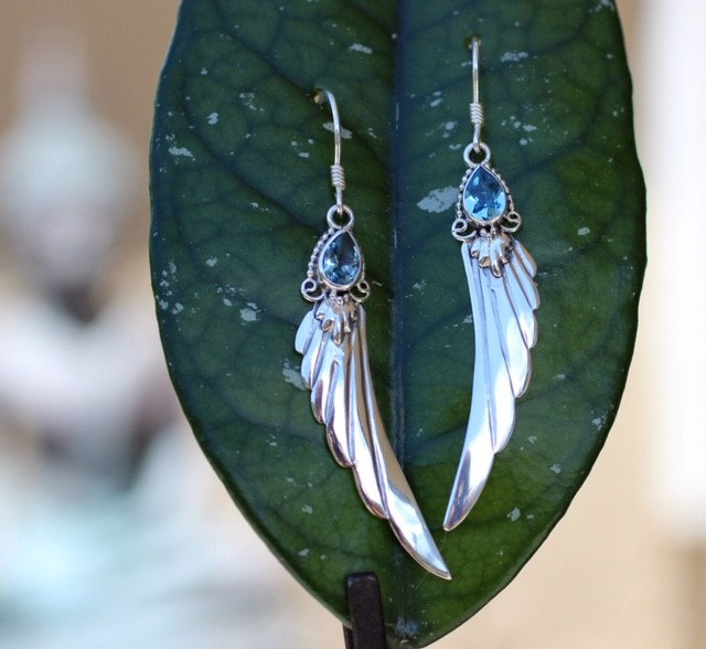 Blue topaz wings