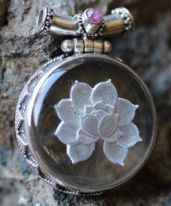Lotus Pendant