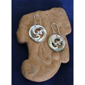 Abalone Koru Earrings
