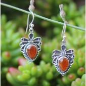 Aztec Carnelian earrings