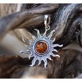 amber sunburst